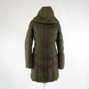 Bogner green Fire + Ice puffer coat 8